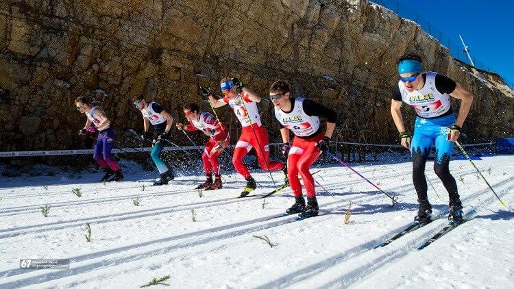 Course de ski de fond